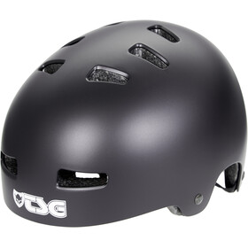 TSG Evolution Solid Color Kask rowerowy, satin black